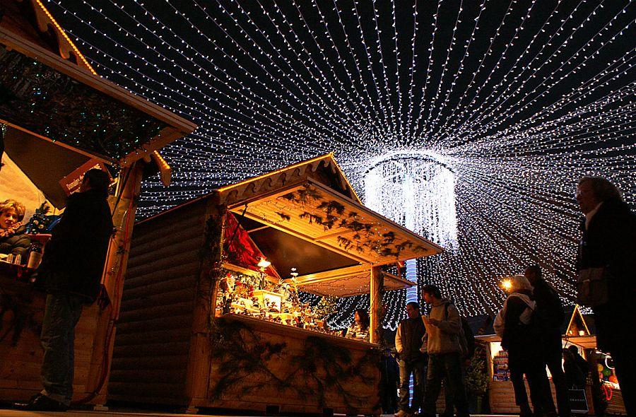 Marché de Noël à Pau.