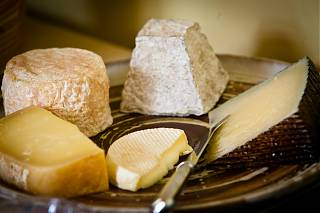 An opportunity to try our local cheeses