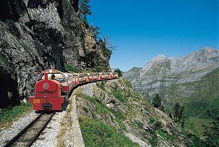 Take a trip though the Pyrénées by train
