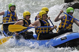 Rafting on the River Gave