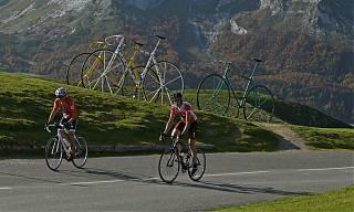Following the route of La Tour de France