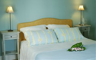 The Blue Bedroom,160cm bed
