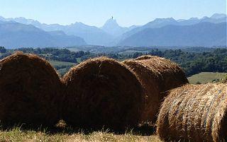 Vue sur les Pyrénées vu du parc