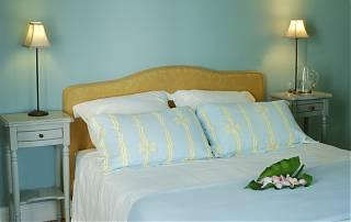 La Chambre Bleue, lit de 160cm