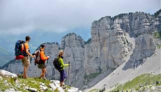 Hiking in the Pyrénées national park